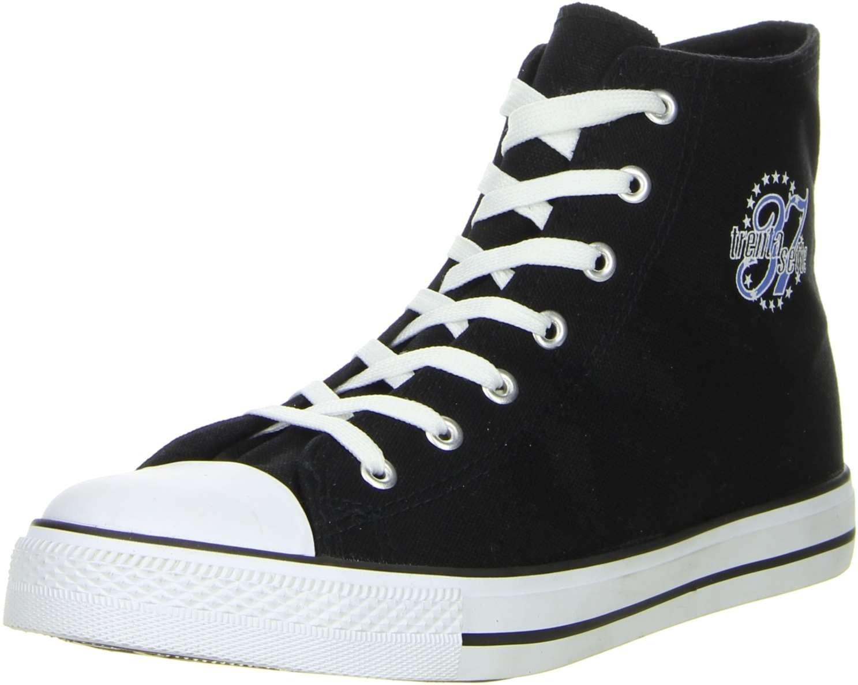 32f71b0a09 Schuhe-Trentasette Damen Herren Sneaker High-Cut schwarz | eBay