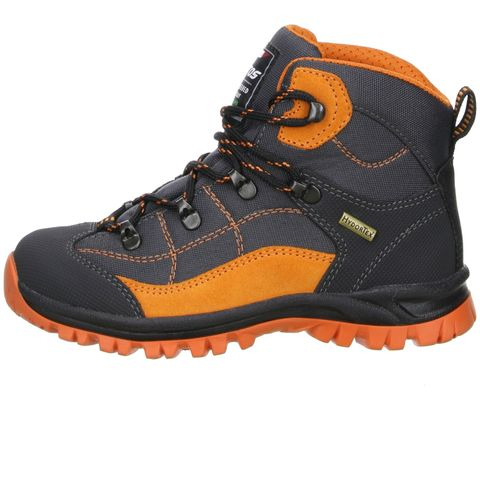 LYTOS Kinder Wanderschuhe Trekkingschuhe anthrazit/orange – Bild 5