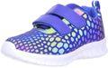 Schuhe-Trentasette Kinder Mädchen Jungen Reflektor-Sneaker blau/mehrfarbig/bunt 001