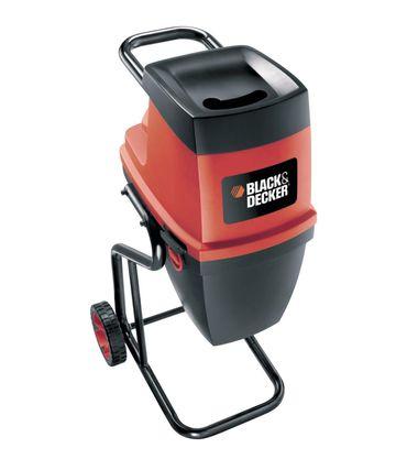 Black & Decker GS2400 Elektro Häcksler Gartenhäcksler Walze 2400W Ø 40 mm – Bild 1