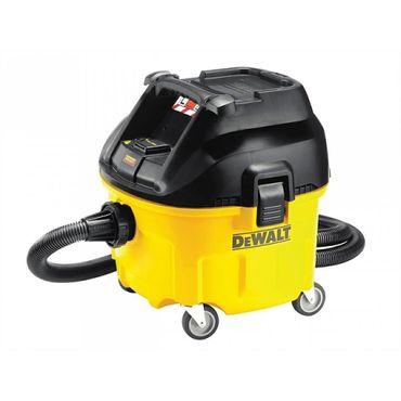 DeWALT DWV901L L-Klasse Industrie Nass- Trockensauger Filtereinigung 1400W 30L