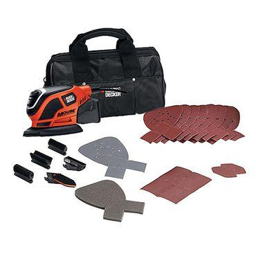 Black & Decker KA1000 Kompakt Maus Schleifer Schwingschleifer mit Tasche – Bild 1