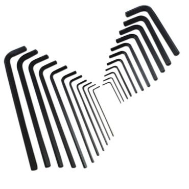 Irwin Sechskant Winkelschlüssel 1.5-10 mm Sechskantschlüssel Lang Kurz Tasche – Bild 1