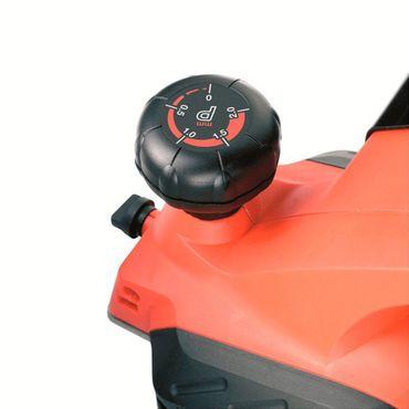 Black & Decker KW712KA Elektro Hobel 650 W - 82 mm mit Koffer – Bild 5