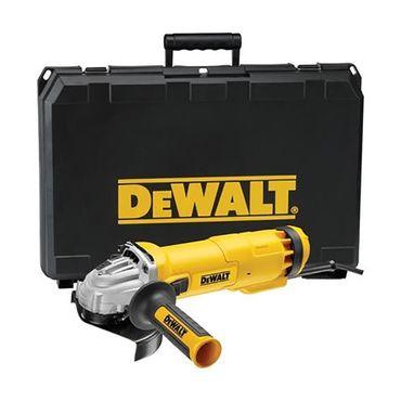 DeWALT DWE4237K Einhand Winkelschleifer 1400W Ø 125 mm mit Koffer Sanftanlauf  – Bild 1