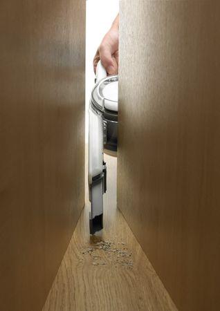 Black & Decker PV1820L Akku Handstaubsauger Pivot knickbar schwenkbar 18V – Bild 15