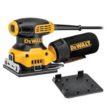 DeWALT DWE6411 Vibrationsschleifer Schleifmaschine Schleifer 108x115mm 230W