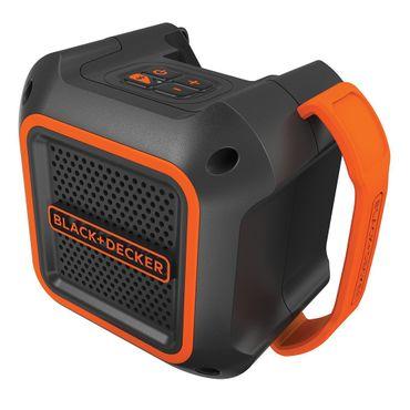 Black & Decker BDCSP18N Akku Lautsprecher 30m Bluetooth 18V AUX 3,5 mm – Bild 1