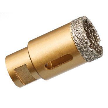 GraniFix® Ø 35 mm Diamantbohrer M14 Bohrkrone Fliesenbohrer Trockenbohrer Granit – Bild 1
