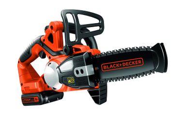 Black & Decker GKC1820L20 Akku Kettensäge 18V 2,0Ah Schwertlänge 20 cm mit Akku – Bild 1