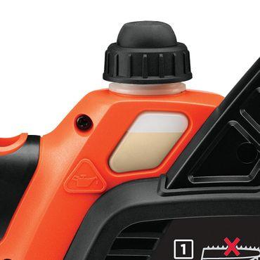 Black & Decker GKC1825L20 Akku Kettensäge 18V kabellos 25cm  – Bild 4