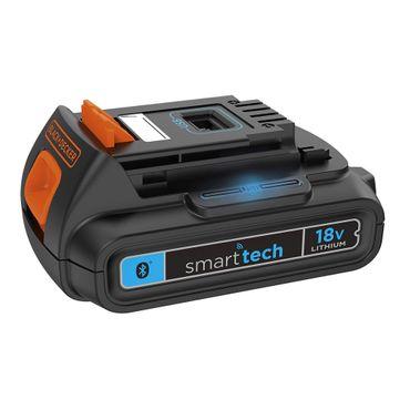 Black & Decker BDCDC18KST Bohrschrauber 18V smart tech Bluetooth USB-Ladegerät – Bild 3