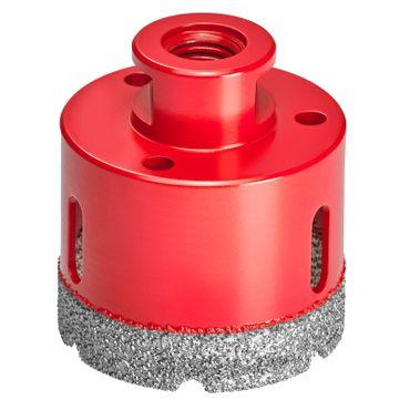 Diamantbohrkrone M14 Fliesenbohrer Diamantbohrer Ø 6-125 mm für Winkelschleifer – Bild 19