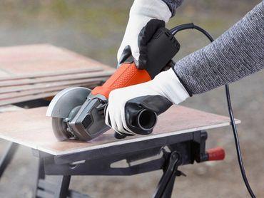 Black & Decker BEG110A3 Einhand Winkelschleifer 750W Ø 115 mm mit Sanftanlauf – Bild 6