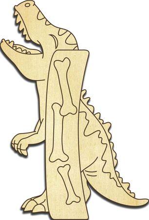 Holzbuchstabe Dinosaurier I