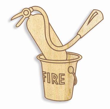 Holzbuchstabe Feuerwehr Y