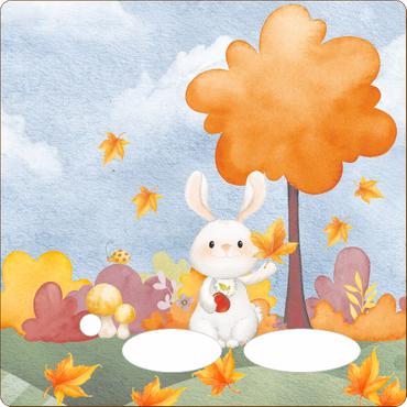 Folie für Musikbox - Herbsthase – Bild 1