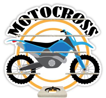 Regal für Musikbox - Motocross – Bild 1