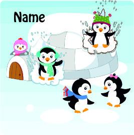 Folie für Musikbox - Pinguin – Bild 2