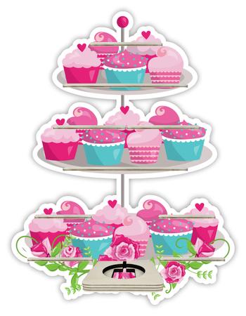 Regal für Musikbox - Muffins – Bild 1