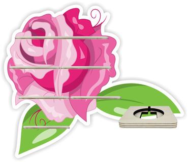 Regal für Musikbox - Rose