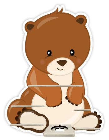 Regal für Musikbox - Bär – Bild 1