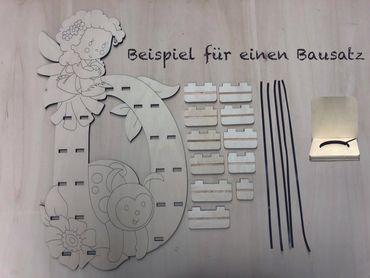 Bausatz Regal für Musikbox - Fee D – Bild 2