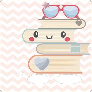 Folie für Musikbox - Coole Bücher – Bild 1