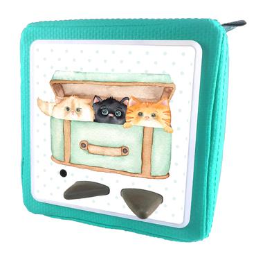 Folie für Musikbox - Katzenkorb 1 – Bild 11