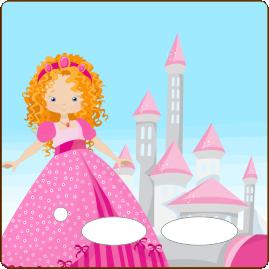 Folie für Musikbox - Prinzessinenfolie