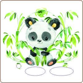Folie für Musikbox - Panda – Bild 1