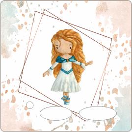 Folie für Musikbox - Aquarell Ballerina – Bild 1