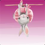 Folie für Musikbox - Balletthase 001