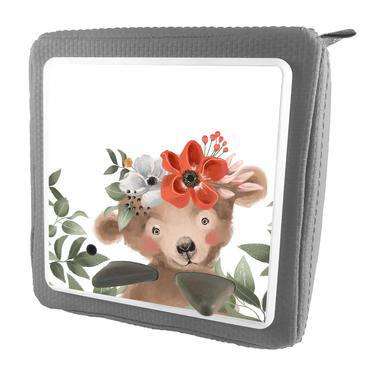 Folie für Musikbox - Bär mit Blumenkranz – Bild 5
