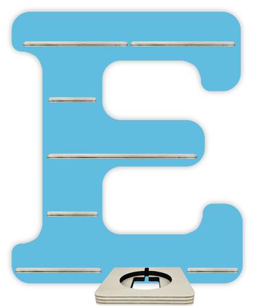 Regal für Musikbox - Alphabet E – Bild 5