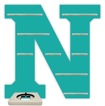 Regal für Musikbox - Alphabet N – Bild 6