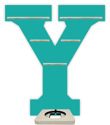 Regal für Musikbox - Alphabet Y – Bild 7