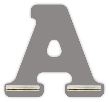 Regal für Musikbox - Mini Alphabet A – Bild 3