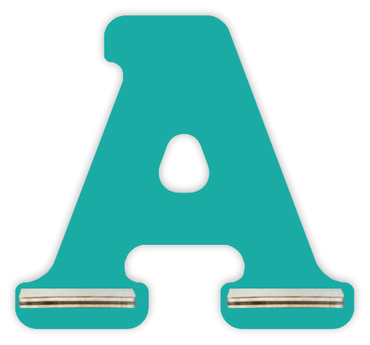Regal für Musikbox - Mini Alphabet A – Bild 8