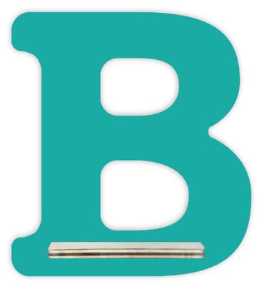 Regal für Musikbox - Mini Alphabet B – Bild 8