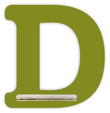 Regal für Musikbox - Mini Alphabet D – Bild 4