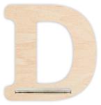 Regal für Musikbox - Mini Alphabet D 001