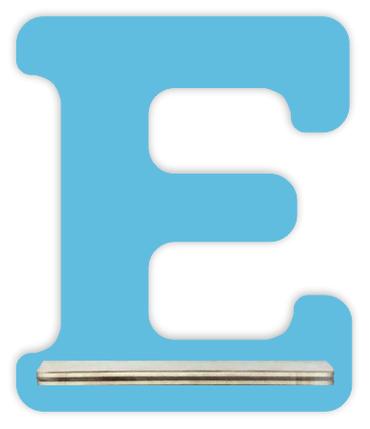 Regal für Musikbox - Mini Alphabet E – Bild 5