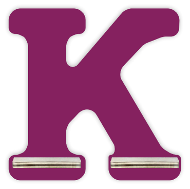 Regal für Musikbox - Mini Alphabet K – Bild 2