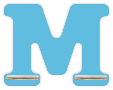 Regal für Musikbox - Mini Alphabet M – Bild 5