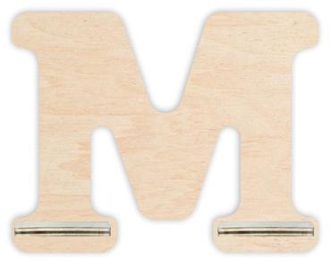 Regal für Musikbox - Mini Alphabet M – Bild 1