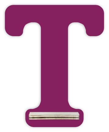 Regal für Musikbox - Mini Alphabet T – Bild 2