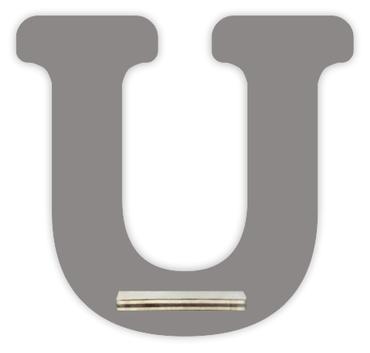 Regal für Musikbox - Mini Alphabet U – Bild 3