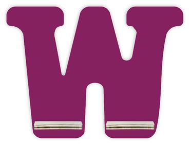 Regal für Musikbox - Mini Alphabet W – Bild 2