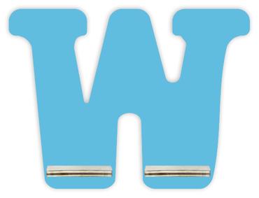 Regal für Musikbox - Mini Alphabet W – Bild 5